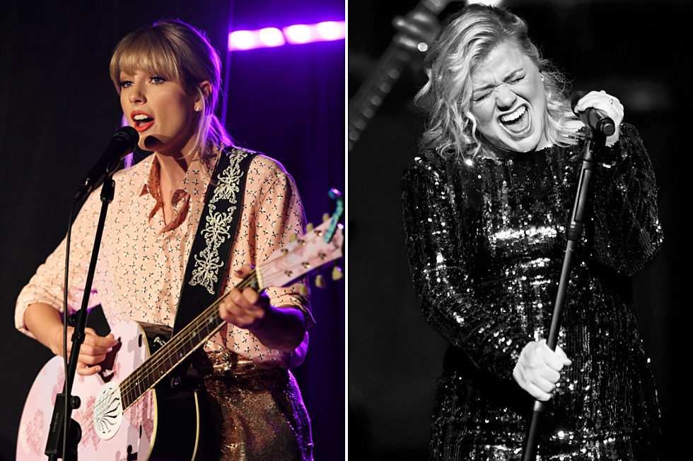 Kelly Clarkson Wants Taylor Swift to Re-Record Her BMLG Songs