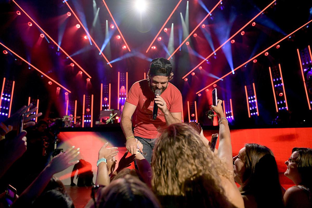 Thomas Rhett Takes on #DanceOrDonate Challenge to Fight Cancer