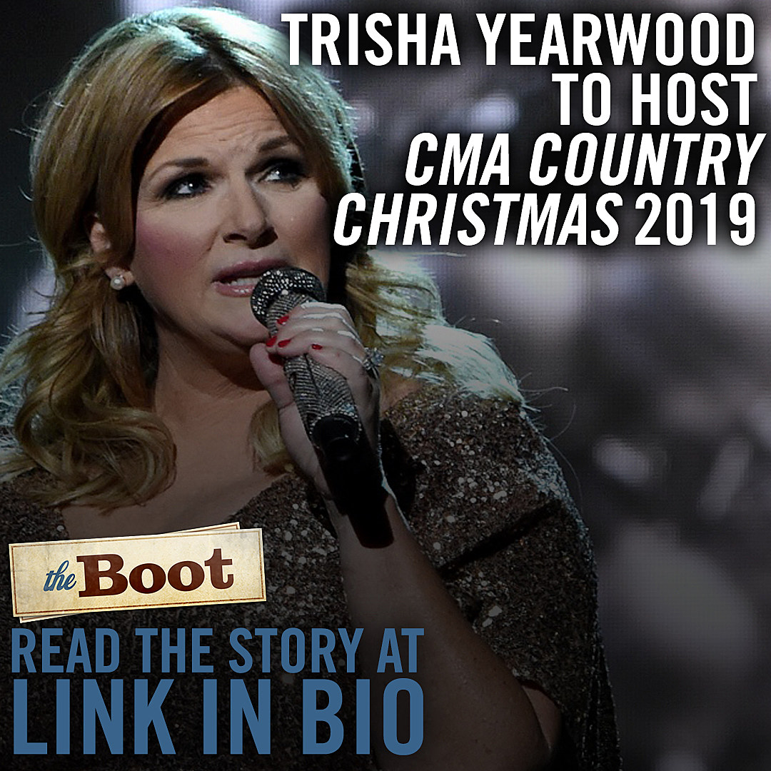 Cma Christmas Special 2019.Trisha Yearwood Hosting 2019 Cma Country Christmas Tv Special