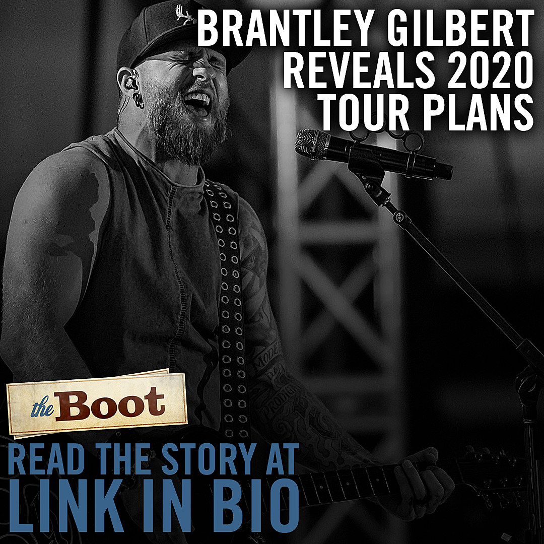 brantley gilbert tour 2020