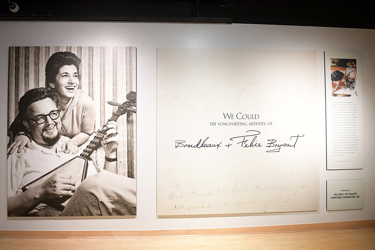 Master Songwriters Boudleaux + Felice Bryant Celebrated With New Country Music Hall of Fame Exhibit [PICTURES]