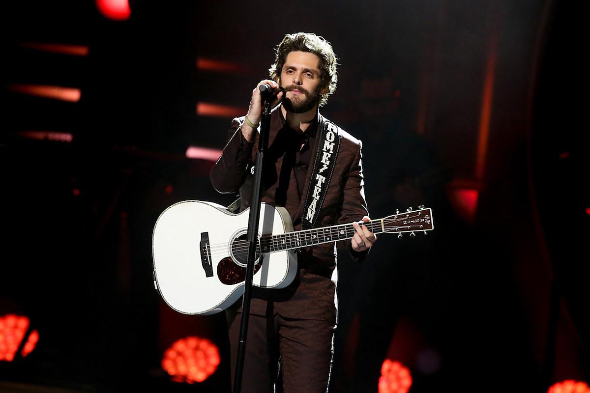 Thomas Rhett: 2019 CMA Awards Nods Are 'Pretty Mind-Blowing'