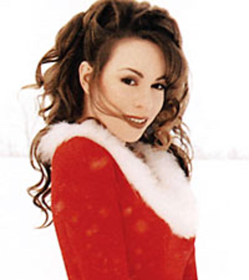 Mariah Carey Christmas Album Cover.Mariah Carey S Christmas Album Due In November