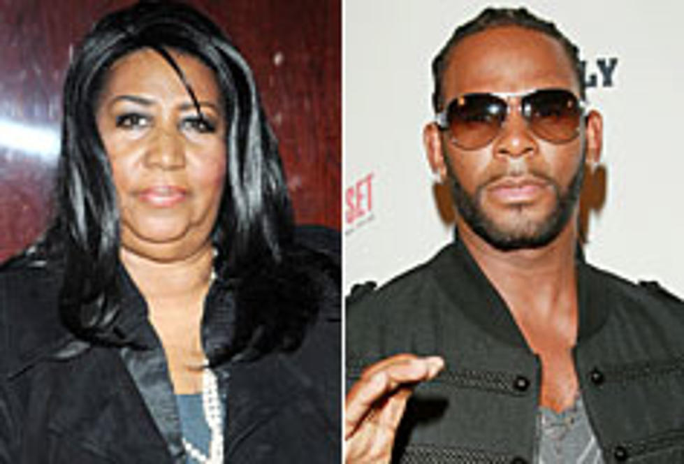 Aretha Franklin Taps R  Kelly for 38th Album