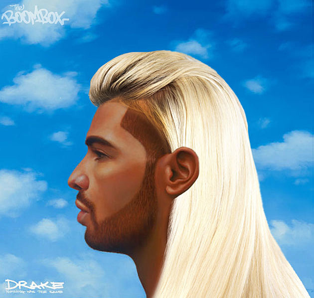 Drake's 'Nothing Was the Same' Cover in Different Hairstyles