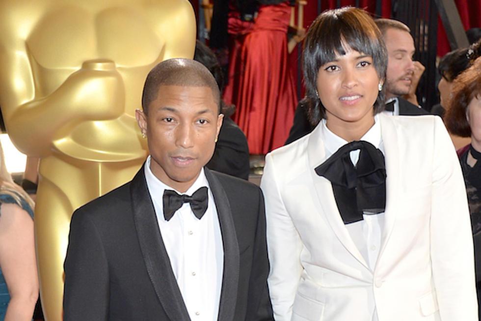 Pharrell Williams Arrives at 2014 Academy Awards Wearing Shorts