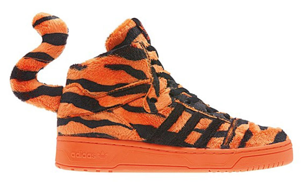 rock rechazo Evaluable  Jeremy Scott x adidas Originals JS Instinct Hi 'Tiger'