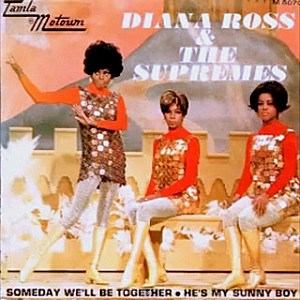 Image result for supremes someday we'll be together advert