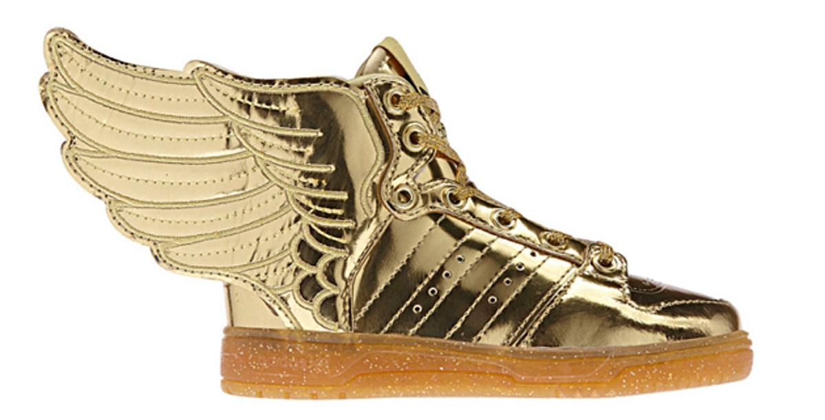Jeremy Scott X Adidas Originals Js Wings 2 0 Gold