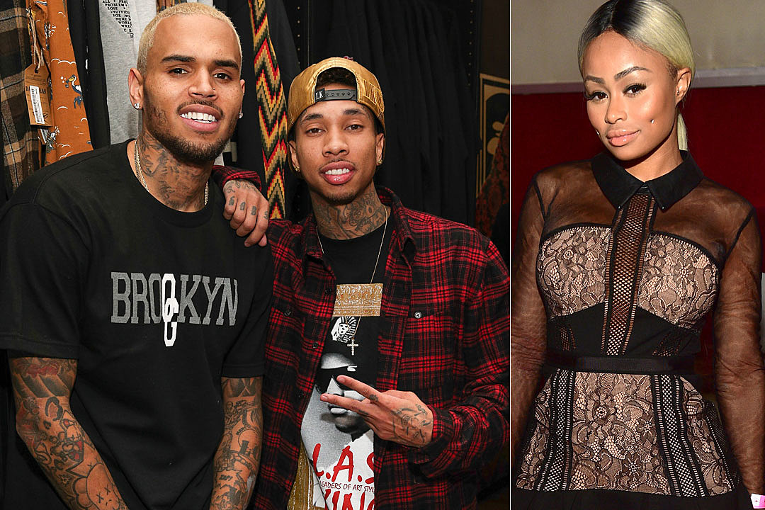 cbc21827c Chris Brown Tells Blac Chyna to 'Chill Out' With Feud Against Tyga and  Kylie Jenner
