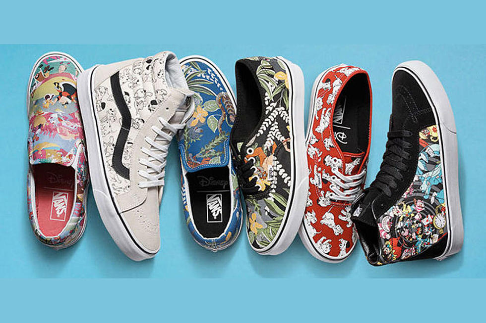 562c7e1d45 Disney x Vans Young at Heart Collection