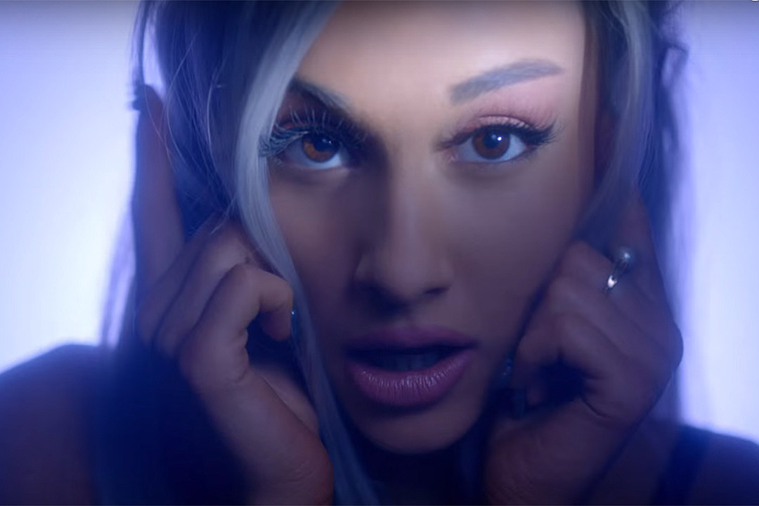ba76b800a7c Ariana Grande Commands Attention in  Focus  Video