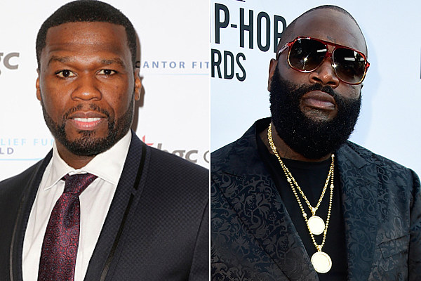 50 Cent & Rick Ross Continue to Throw Shots on Instagram [PHOTOS]