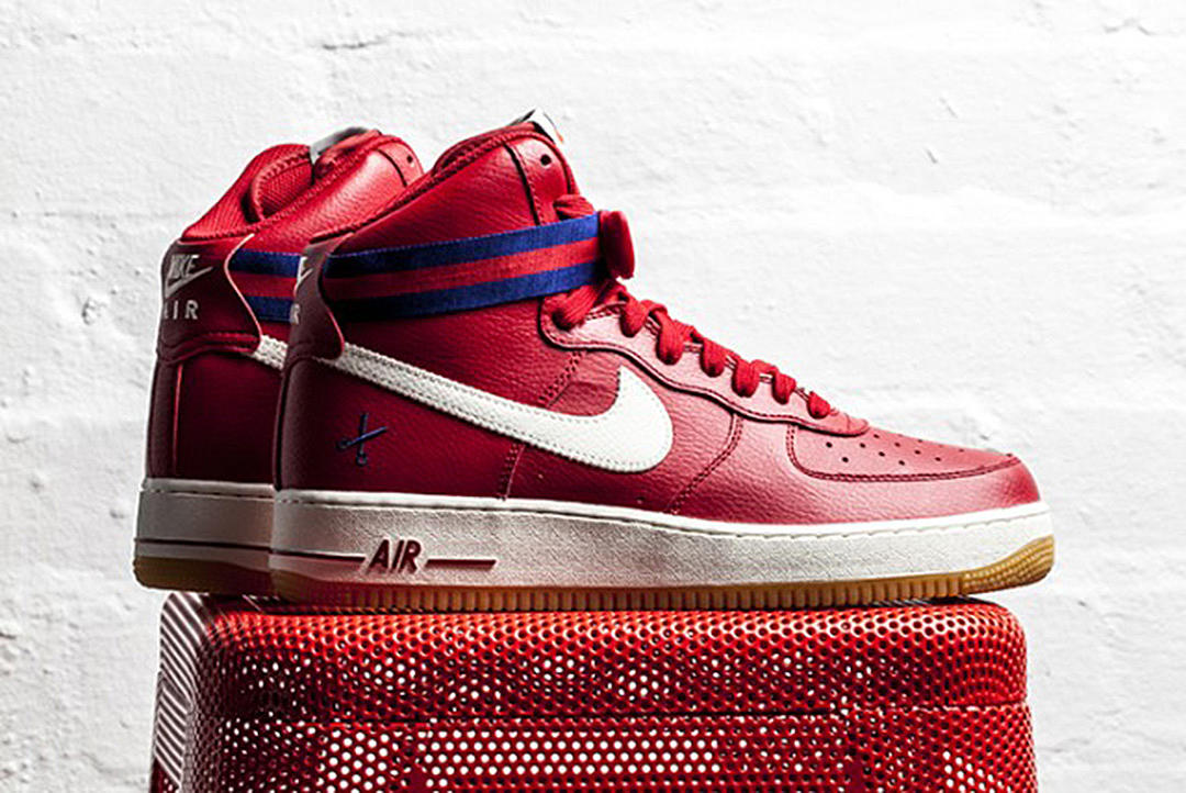 the latest 41eaa 1ae79 Nike Air Force 1 High Barber Shop