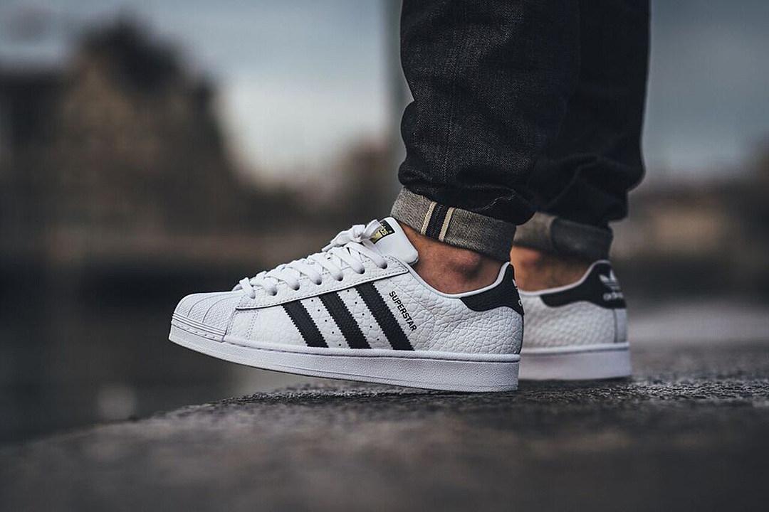 Adidas Superstar Animal White Black
