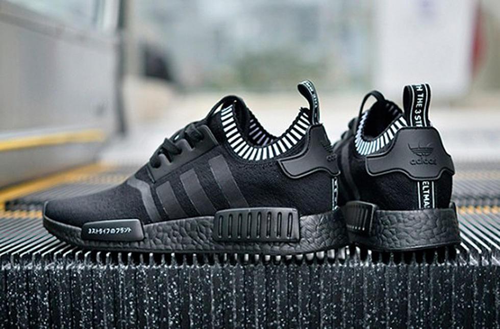 best website 46087 76e11 Adidas NMD Runner Triple Black Boost