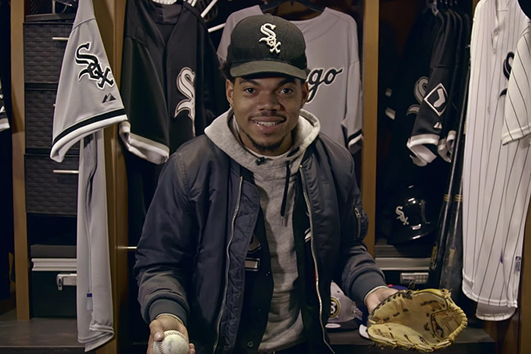 3661f61389b Chance the Rapper Redesigns Chicago White Sox Snapback  VIDEO