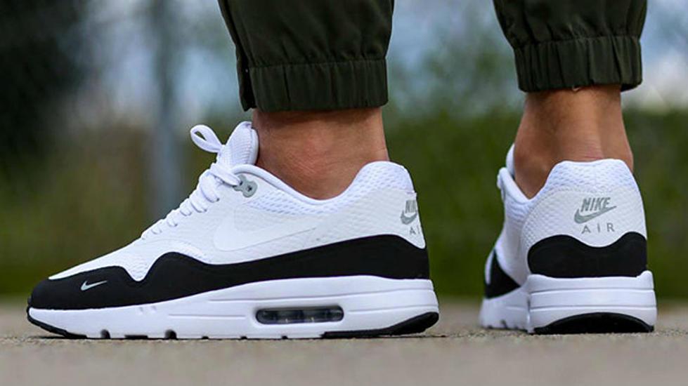 size 40 4c09e 46a66 Nike Air Max 1 Essential Black White-Wolf Grey