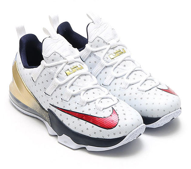 Nike LeBron 13 Low Olympic