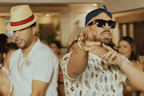 3193ddee83 French Montana and Drake Are Partying It Up in DR in  No Shopping  Video