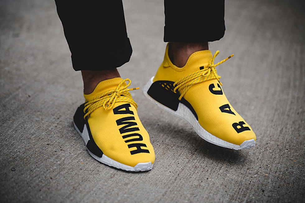 finest selection 36050 94554 Pharrell Williams x adidas NMD Human Race