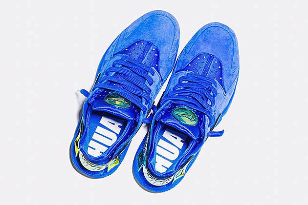 best service bc1d1 96e8b Undefeated x Nike Huarache LA