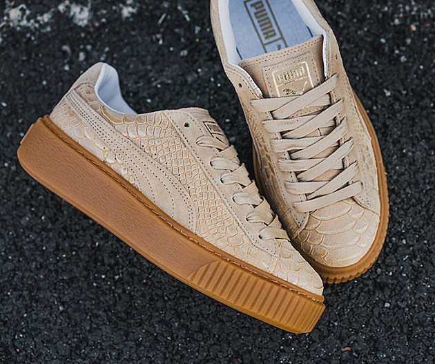 Puma Basket Platform Exotic Gum