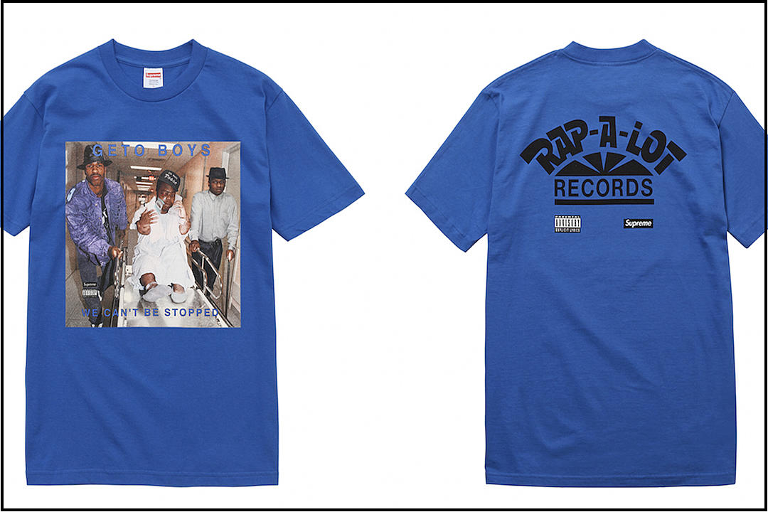 a5e638928e0a Rap-A-Lot Records Featured on Capsule Collection By Supreme [PHOTO]