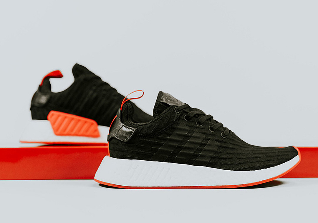 new authentic cheap prices quality products adidas NMD R2 Black Red