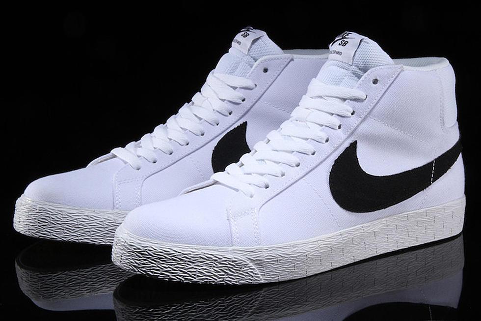 sports shoes 8b719 fcff9 Nike SB Zoom Blazer Mid Canvas