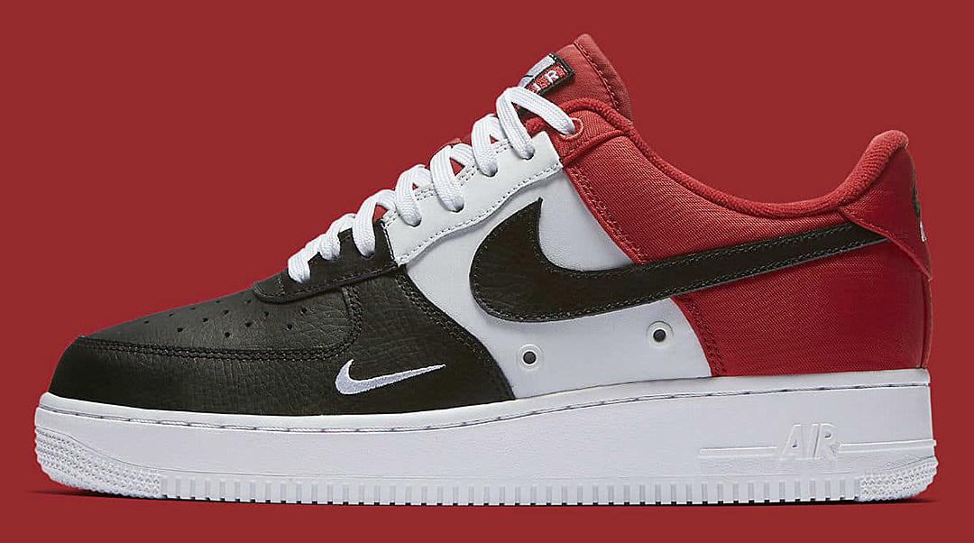 Nike Air Force 1 Low Black Toe