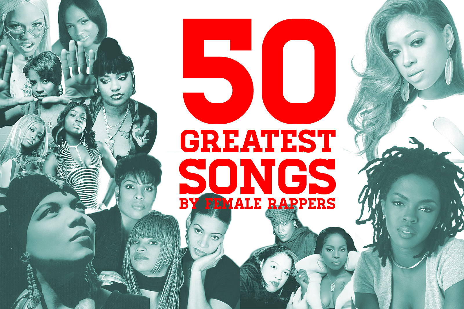 50 Greatest Songs By Female Rappers