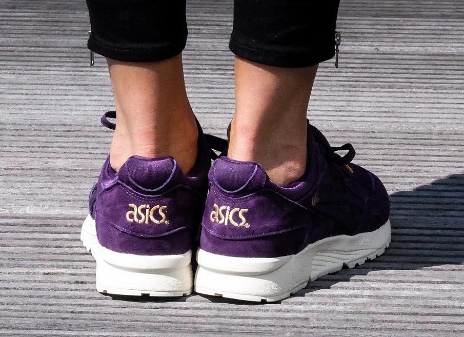 asics gel lyte v purple