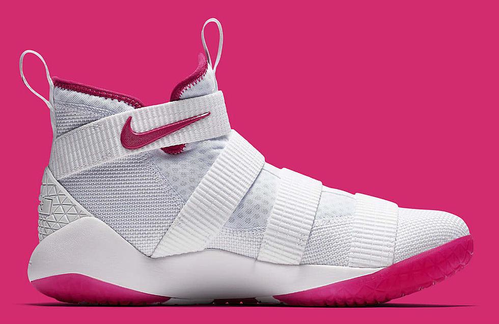 size 40 432ff cc3ea Nike LeBron Solder 11 Think Pink