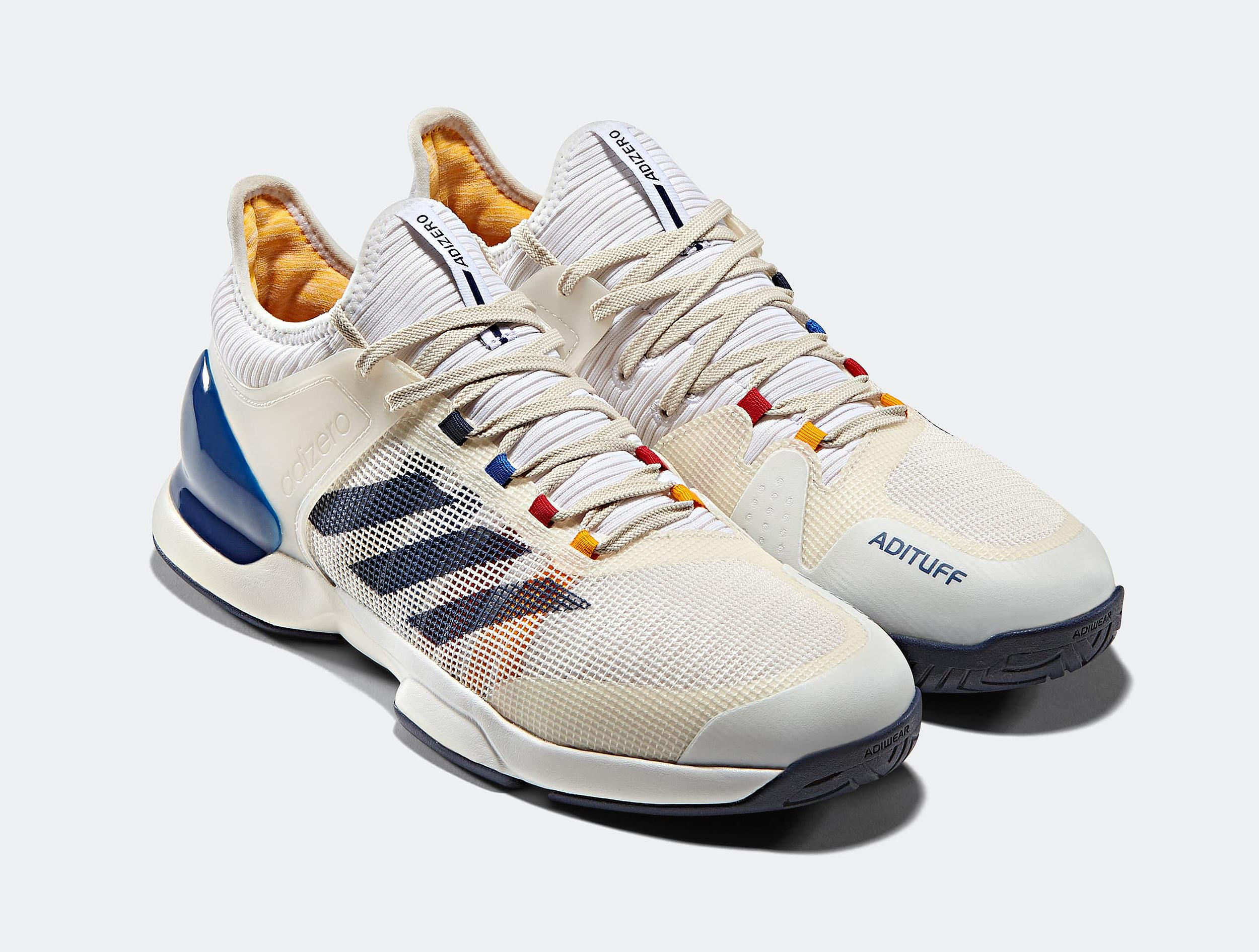 competitive price 7b629 632bc Pharrell x adidas Tennis Collection