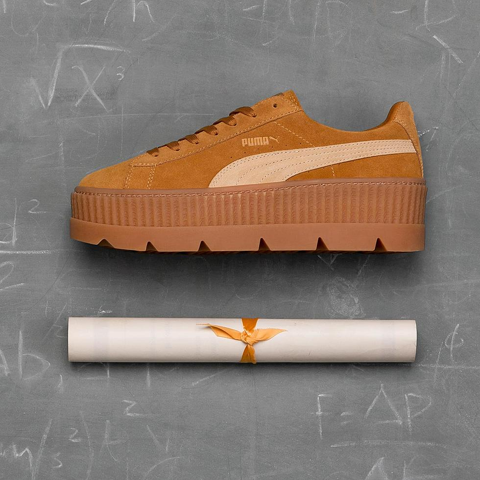 quality design 62004 fc84e Rihanna x Puma Fenty Suede Cleated Creeper