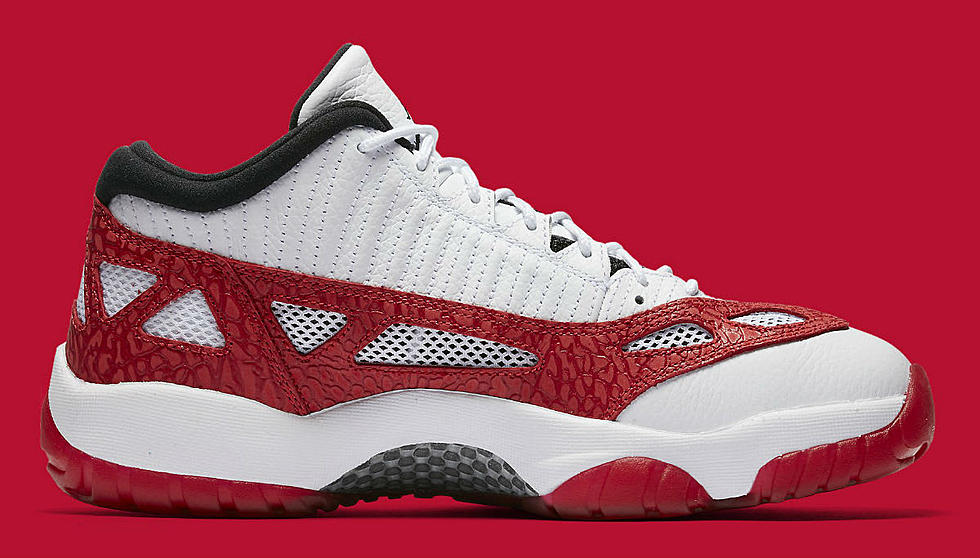 Air Jordan 11 Low Ie Gym Red