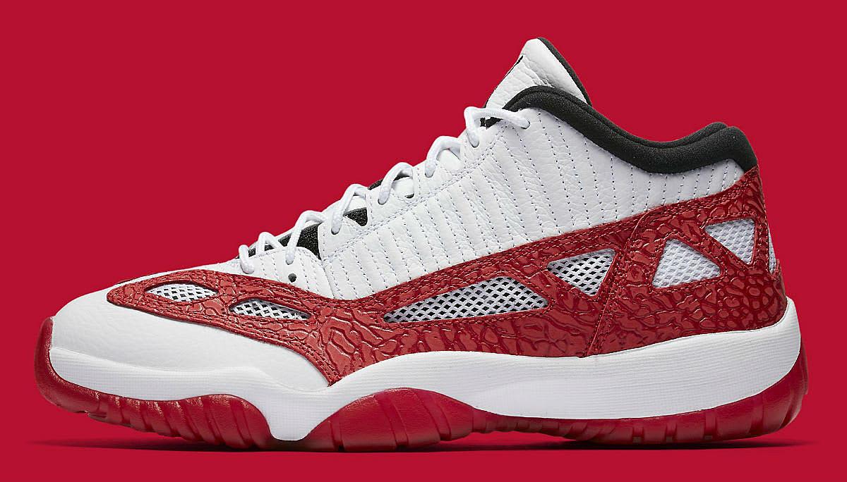 fe29b7250af7bf Air Jordan 11 Low IE Gym Red