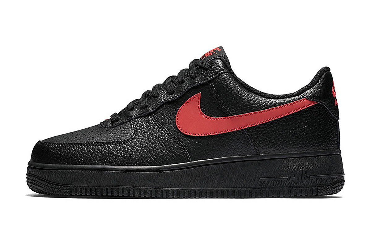 Low Black Nike Air Force 1 Leather Pack hQrdCsxtB
