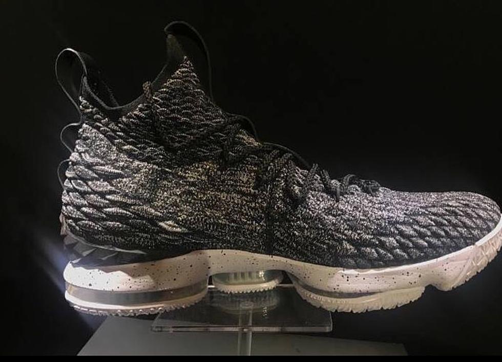 timeless design 44149 9a04e Nike LeBron 15 Oreo