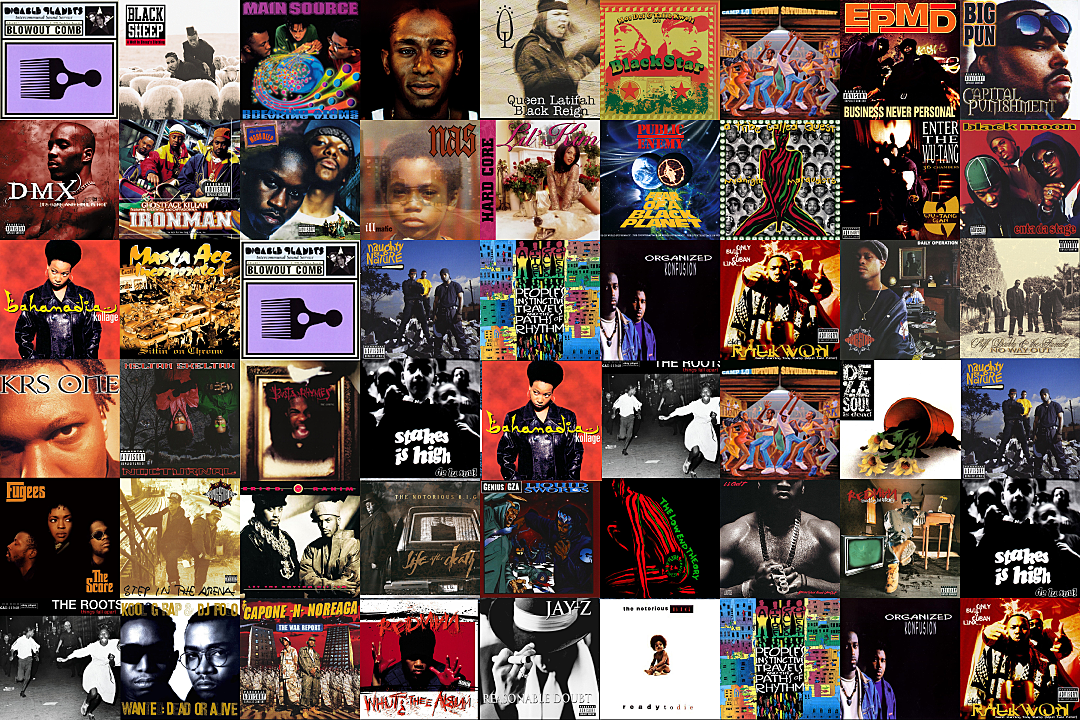 50 Greatest East Coast Hip Hop Albums Of The 1990s