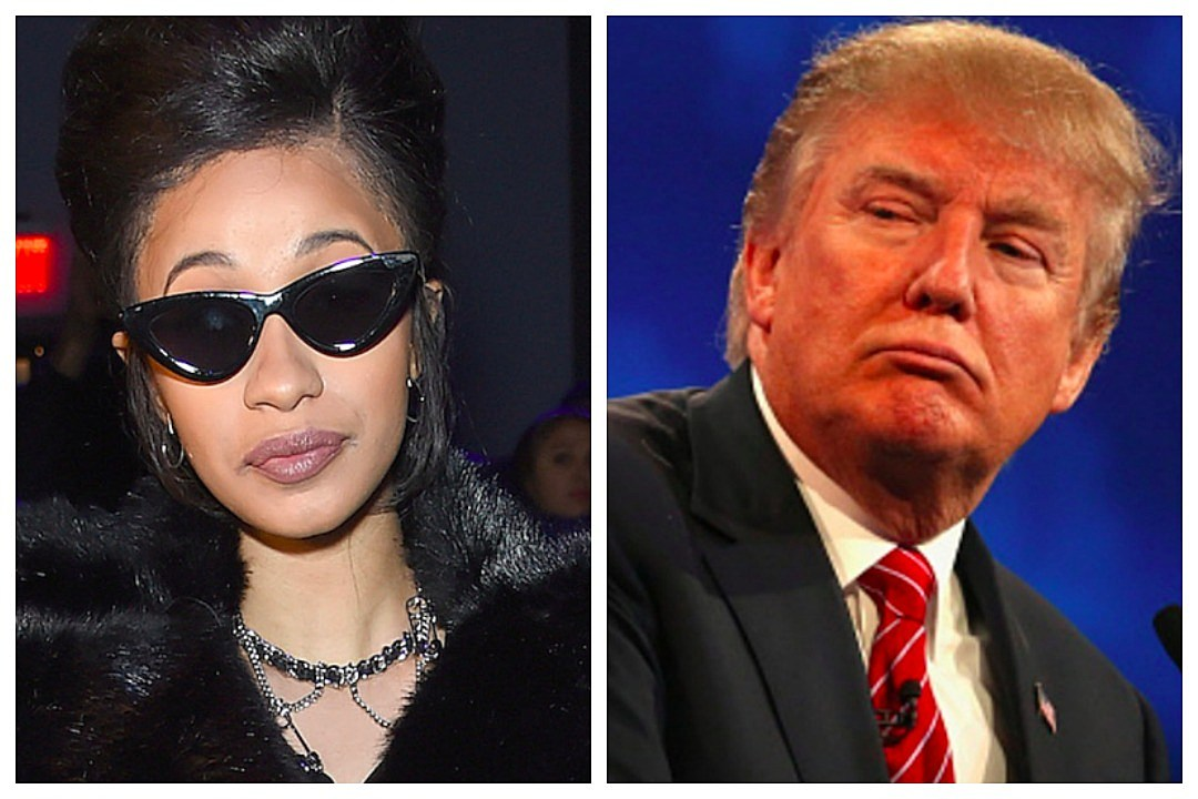 9999999c60 Cardi B Thinks Trump s  Out His Mind  for Wanting to Arm Teachers