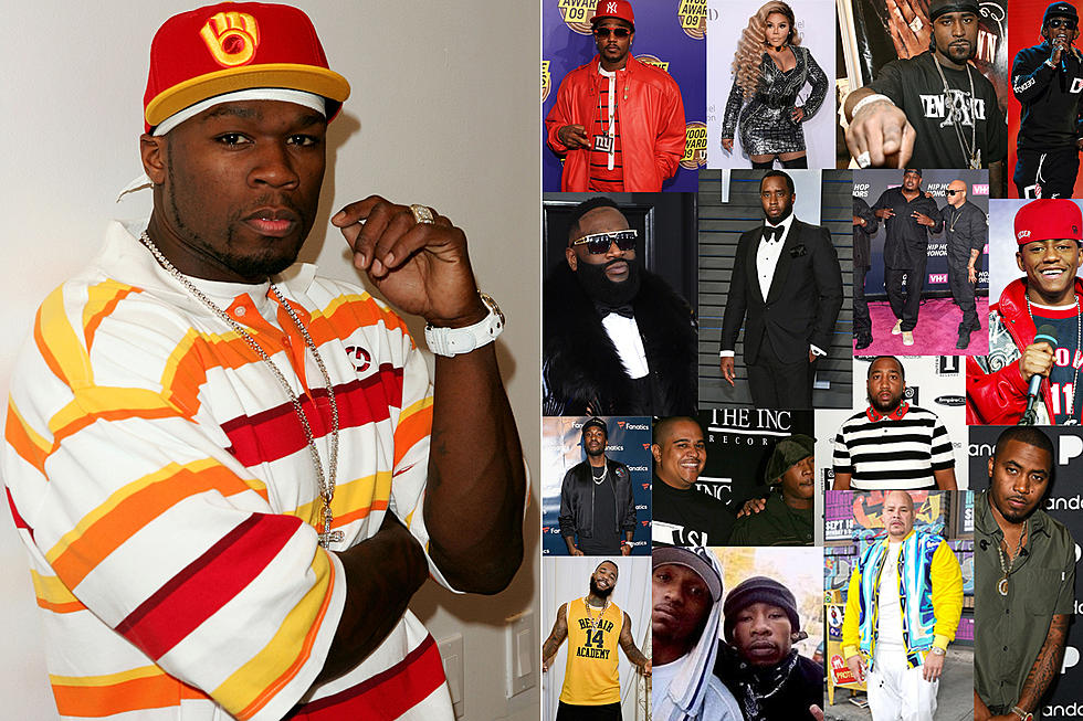 50 Cent vs Everybody: A Guide of His Most Notorious Hip-Hop