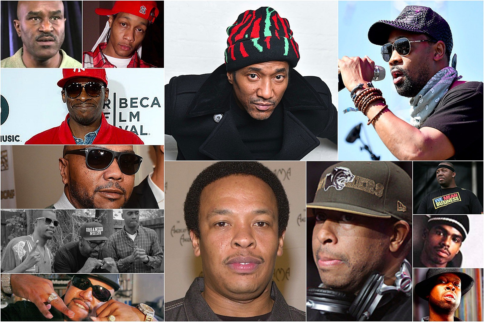 15 Most Influential Rap Producers of the '90s