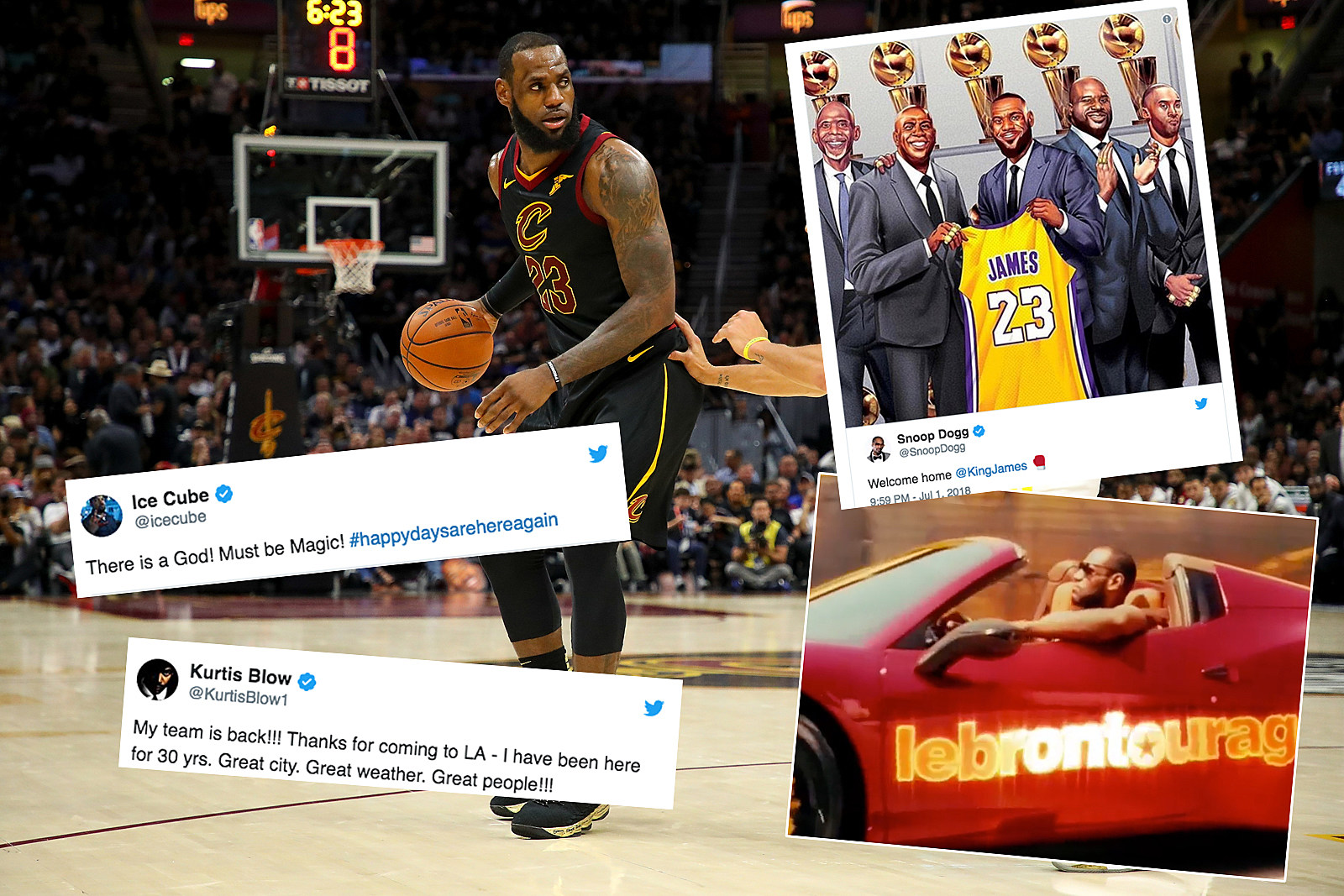 6cc4f147e82 LeBron James Joins the Lakers: Hip-Hop Reacts With Praise & Jokes