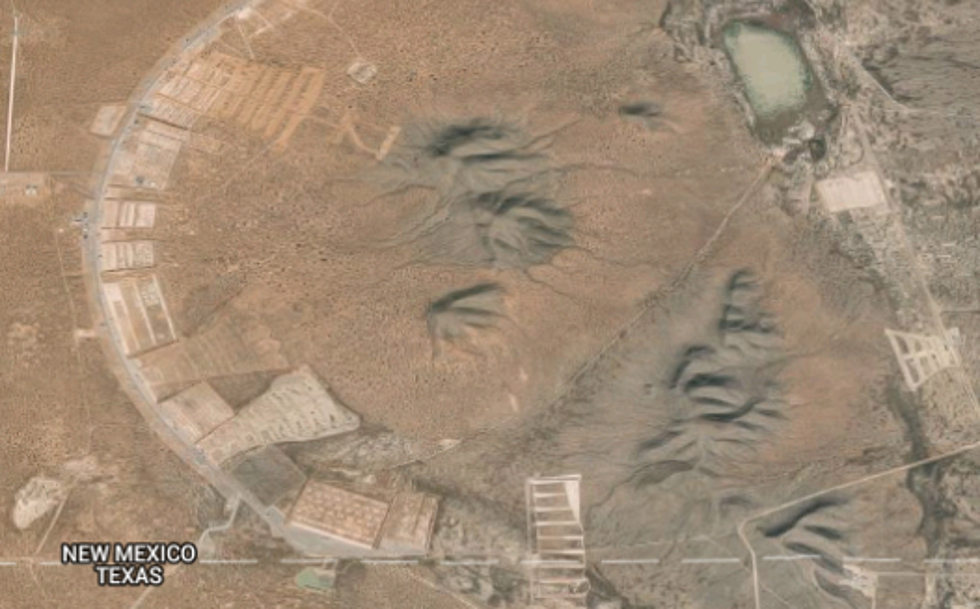 Google Maps Shows Mysterious Place in New Mexico