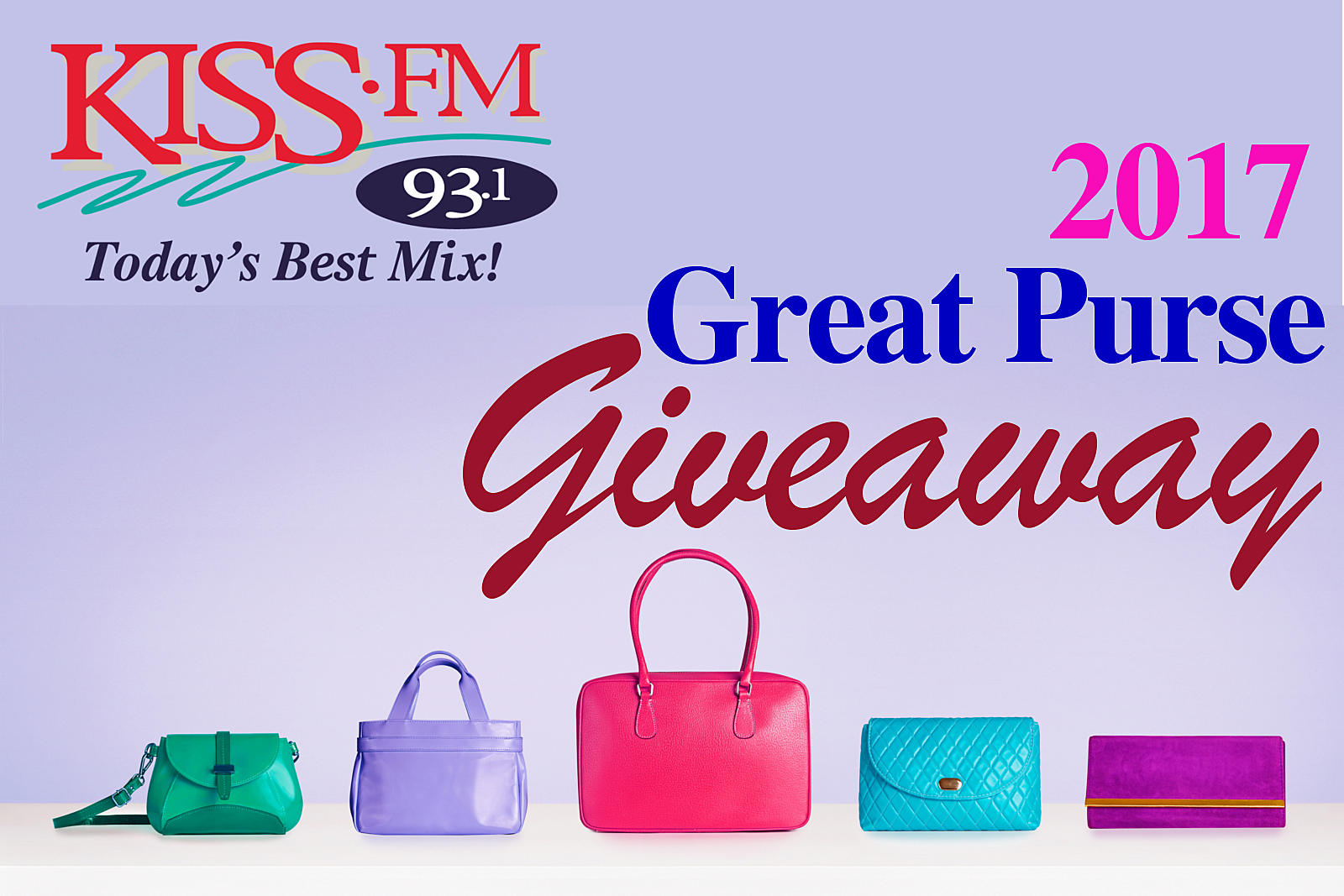 KISS FM GREAT PURSE GIVEAWAY