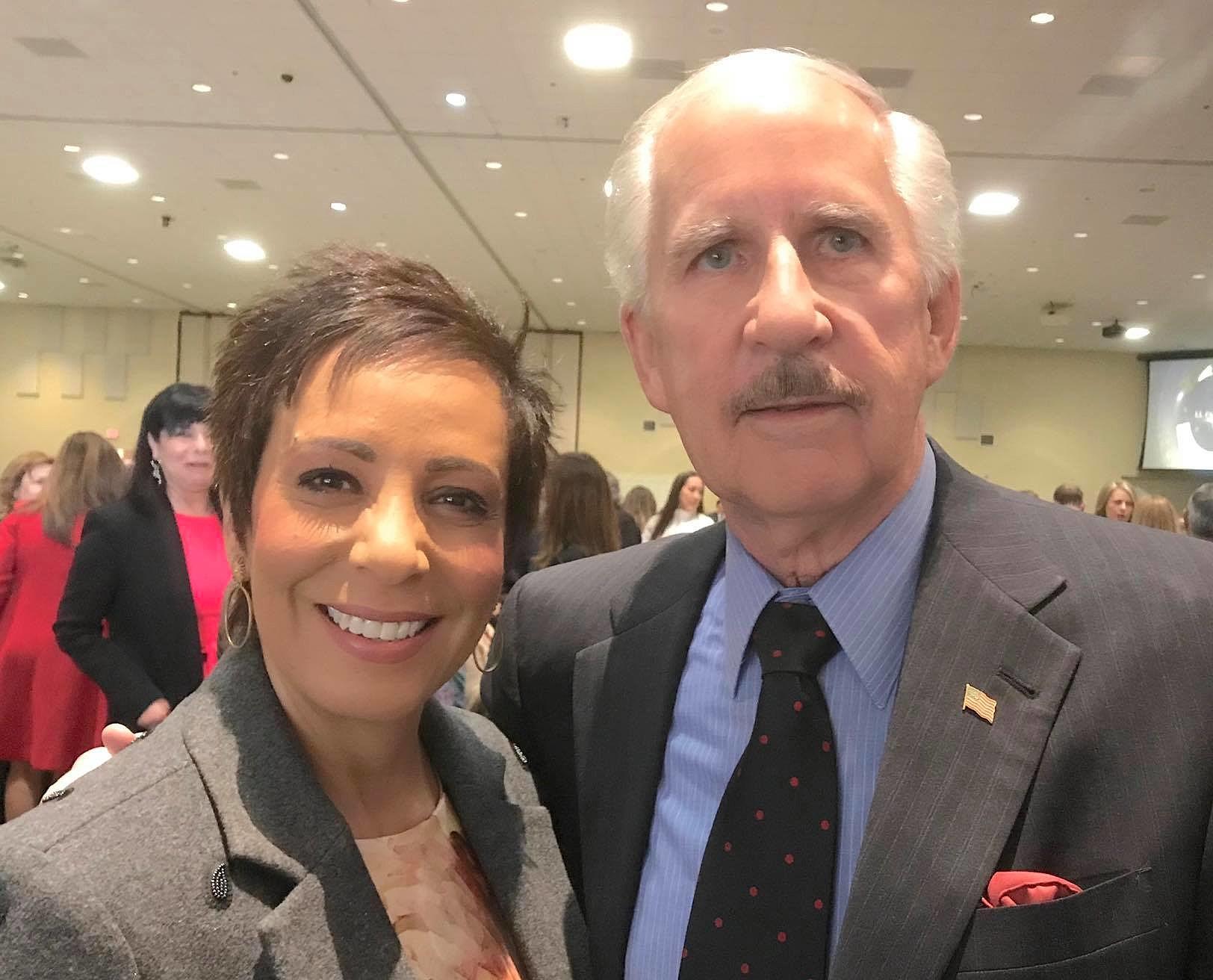 Gary and Estela Together Again - Former Co-Anchors Reunite