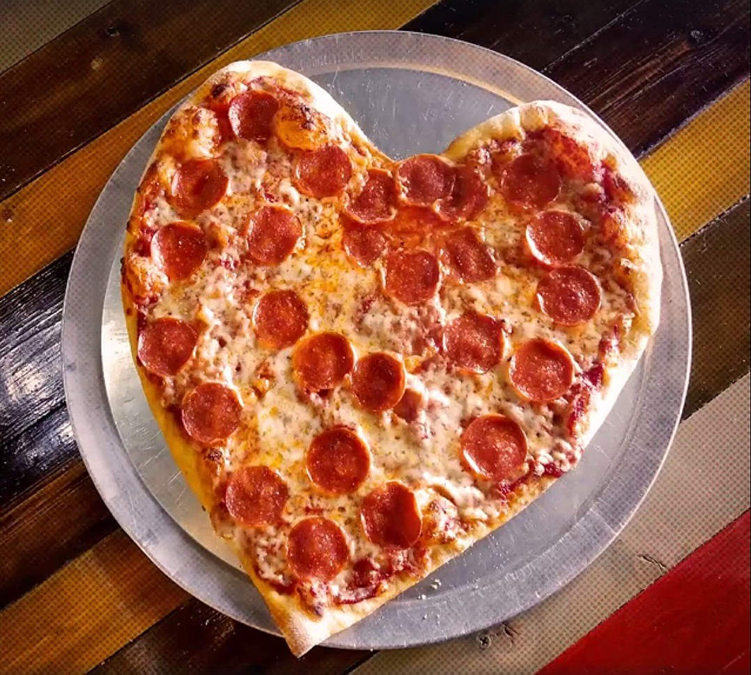 Pizza Shaped Dinner Set Valentines Gift Take Another Piece of My Heart
