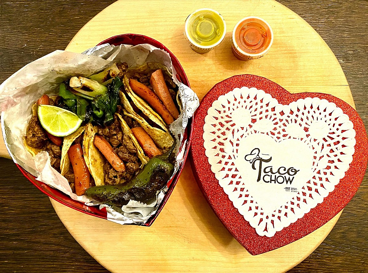 Where To Order Your Heart Shaped Box Of Tacos For Vday In El Paso